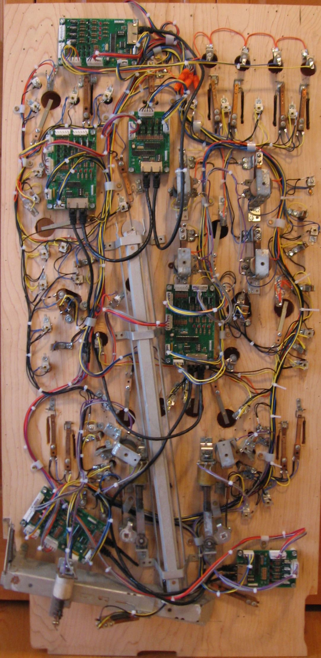 Playfield Wiring For Pinkit Controllers Numbering Convention Under View Final Wired