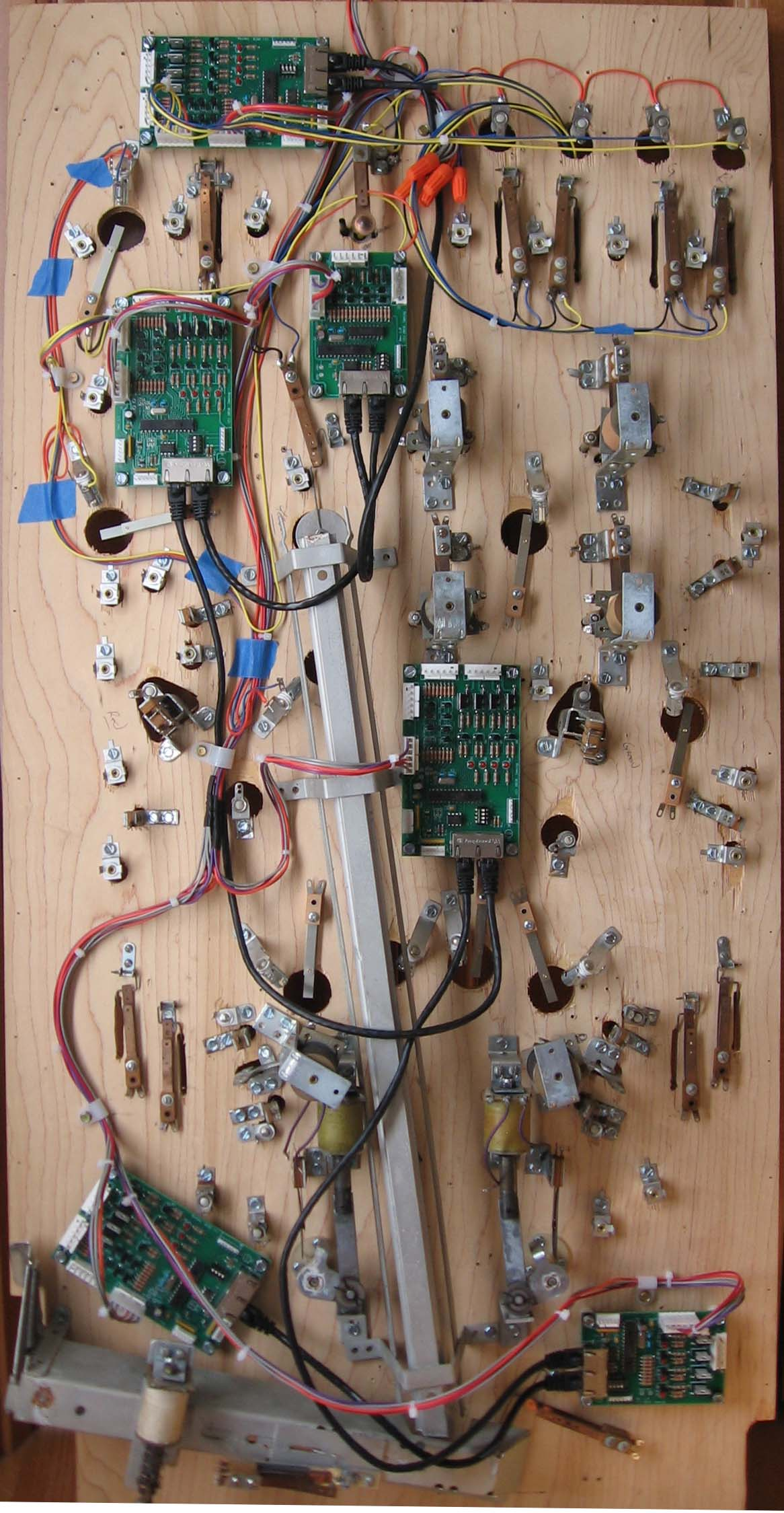 Playfield Wiring For Pinkit Controllers Numbering Convention Step 6 Wire The Connectors